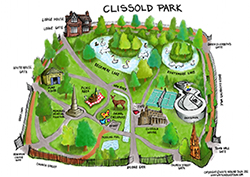 map of clissold park