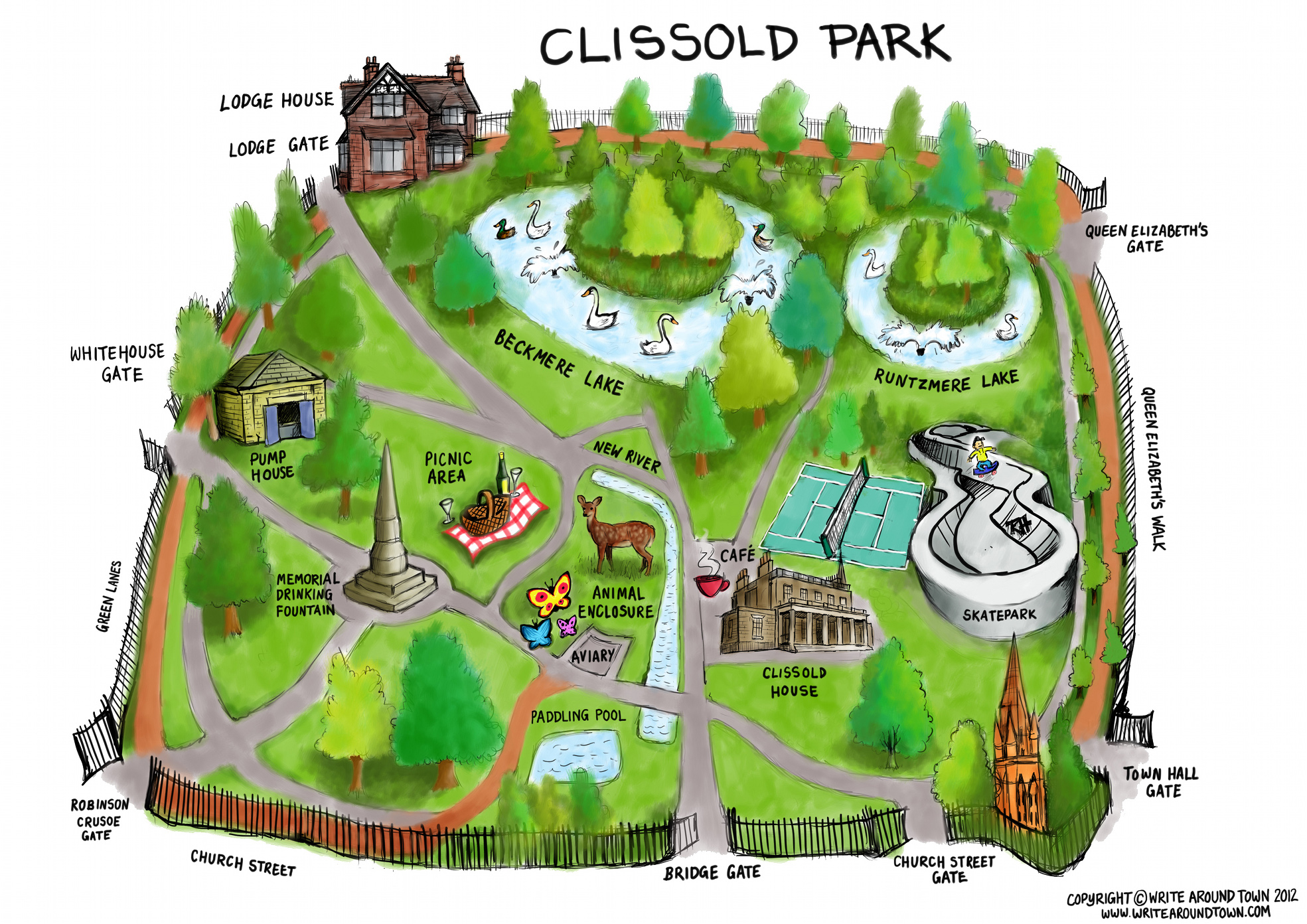 Facilities – Clissold Park User Group